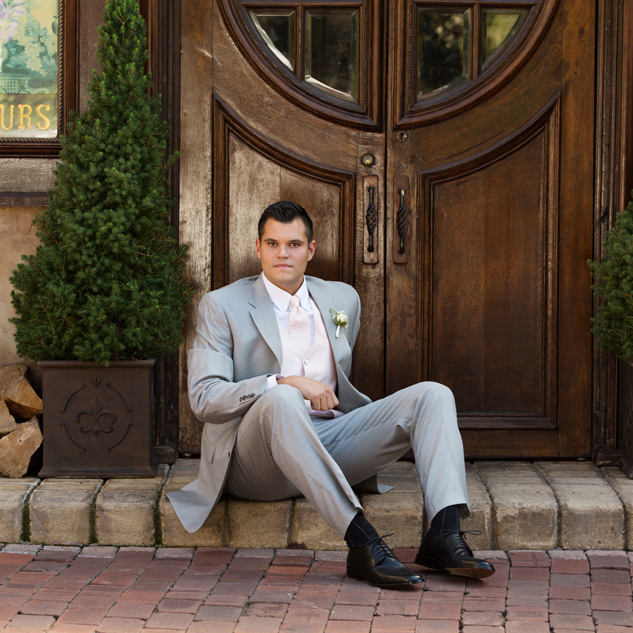 Brad | The Groom at La Caille