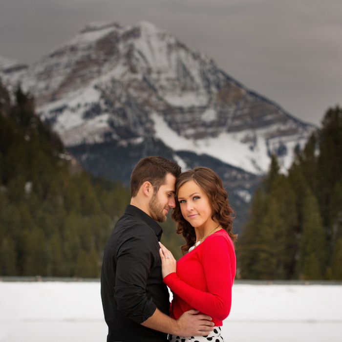 Matthew & Cailley | Engagement Session at Tibble Fork Reservoir