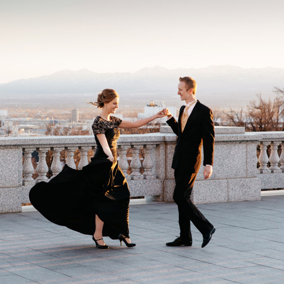 Collin & Brianna Engagement at Utah State Capitol