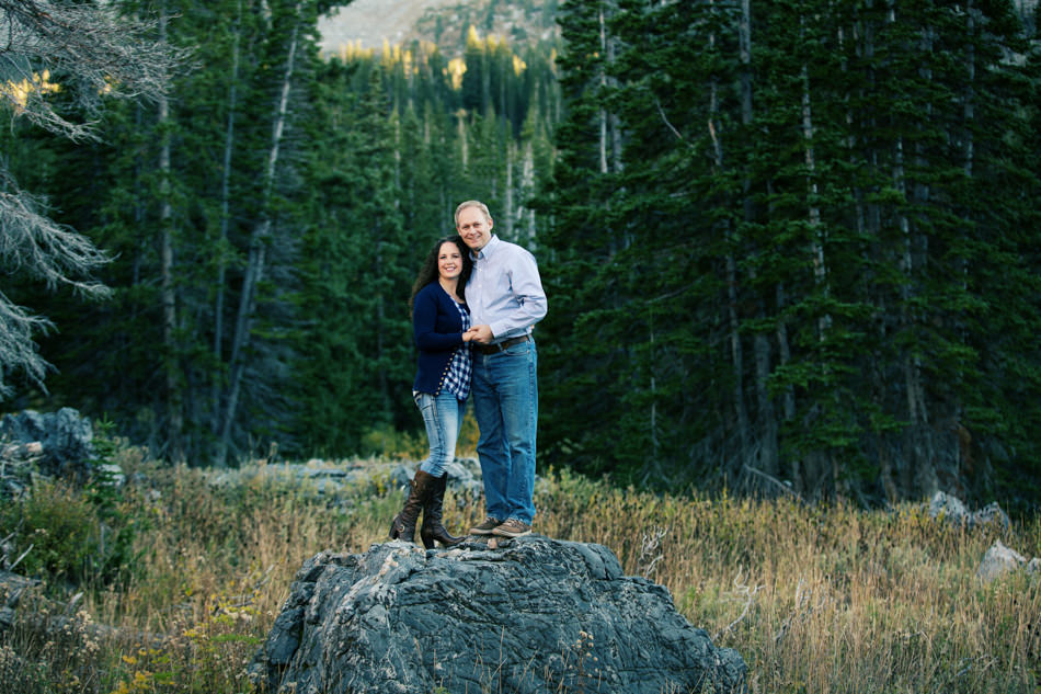 tim and shelley engagement at albion basin