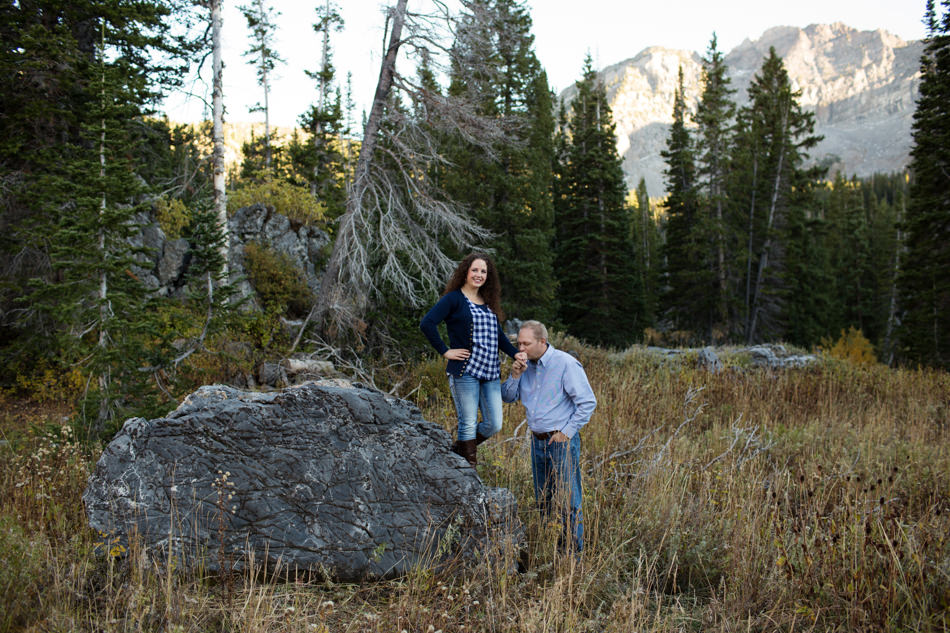 utah engagement photographer