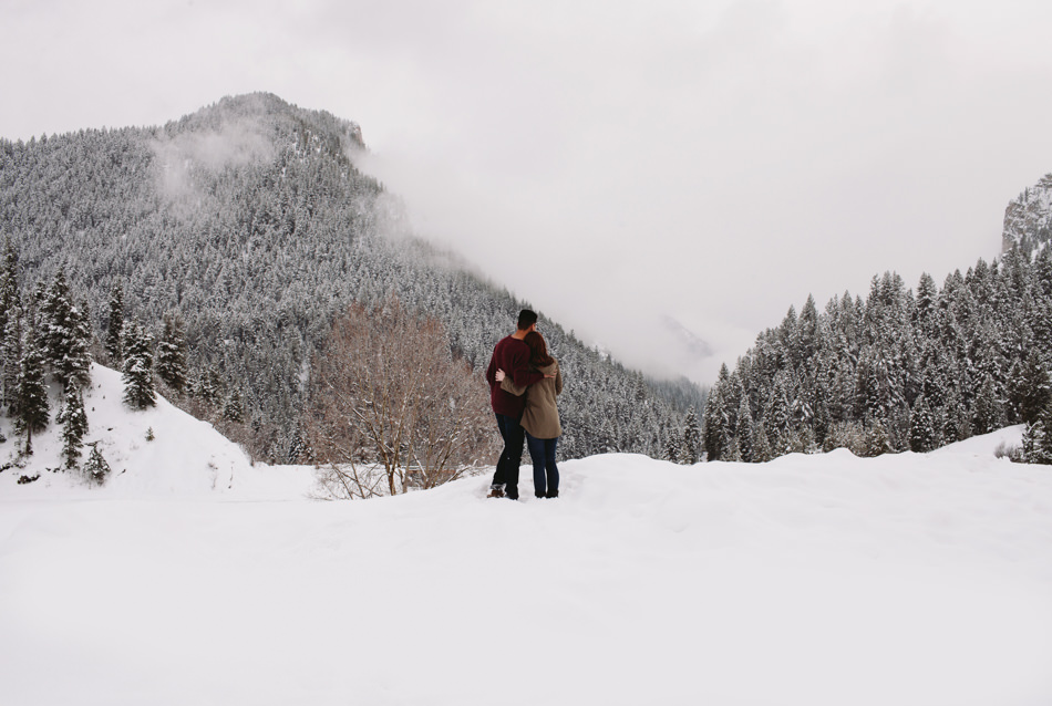 tibble fork winter photos