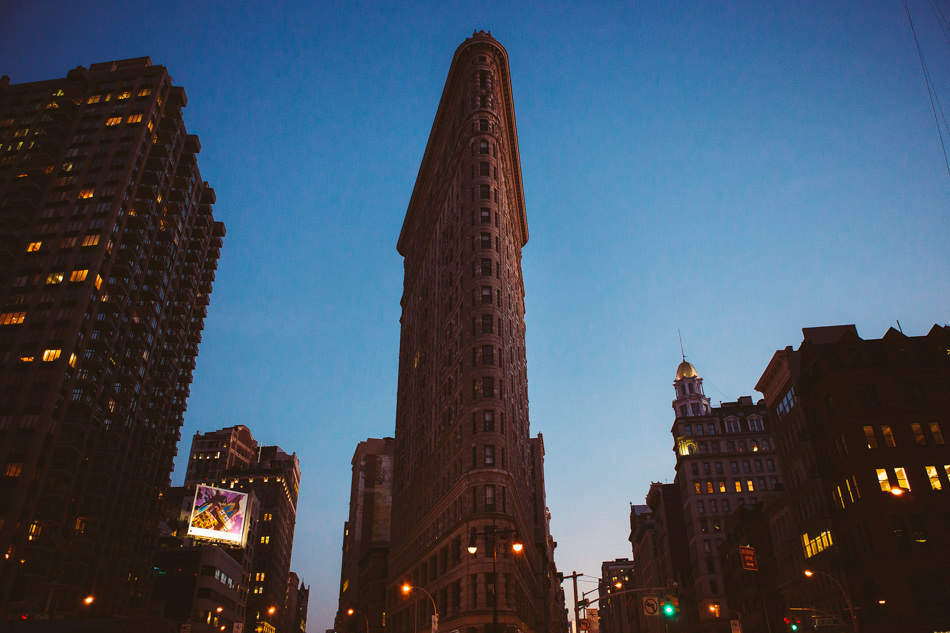 The Flat Iron Building NYC