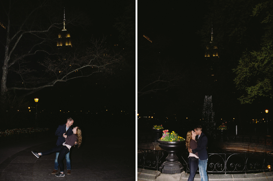 Empire State Building Engagment Photos