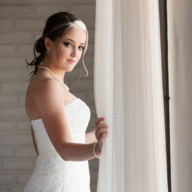 Susan's Bridal Portrait | Natural Light Studio