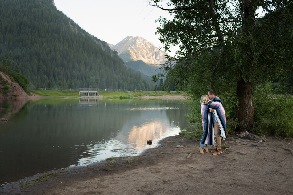 Marcus And Brenna Engagement At Tibble Fork Davis